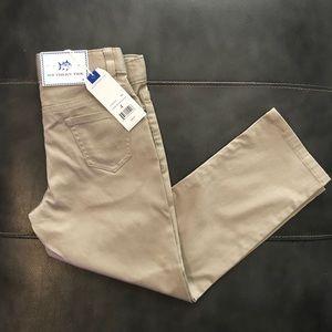 Southern Tide kids causal pants -  sandstone khaki